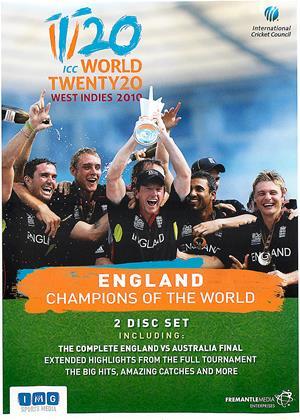 Rent World Twenty20 West Indies 2010: England: Champions of the World Online DVD Rental