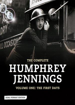 The Complete Humphrey Jennings: Vol.1: The First Days Online DVD Rental