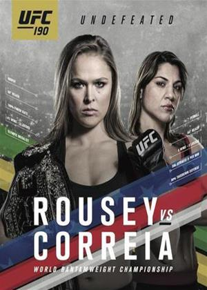 Rent Ultimate Fighting Championship: 190: Rousey Vs Correia Online DVD Rental