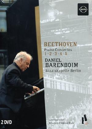 Rent Beethoven Piano Concertos 1-5: Staatskapelle Berlin Online DVD Rental