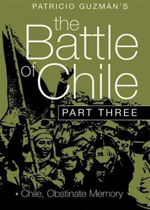 Battle of Chile: Part 3 Online DVD Rental