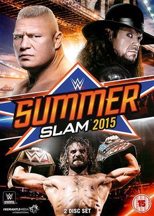 Rent WWE: Summerslam 2015 Online DVD Rental