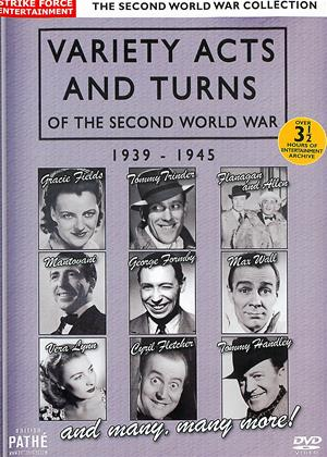 Variety Acts and Turns of the Second World War 1939-1945 Online DVD Rental