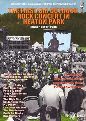 Rent The First Big Outdoor Rock Concert in Heaton Park, Manchester Online DVD Rental