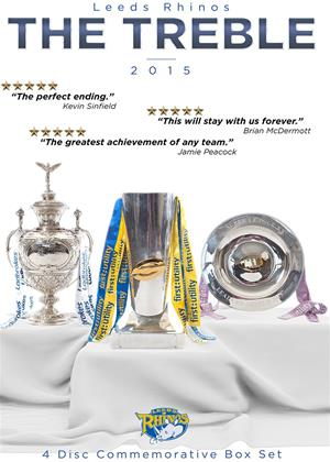 Rent Leeds Rhinos: The Treble Online DVD Rental