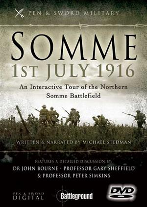 Rent Somme 1st July 1916: Northern Battlefield Online DVD Rental