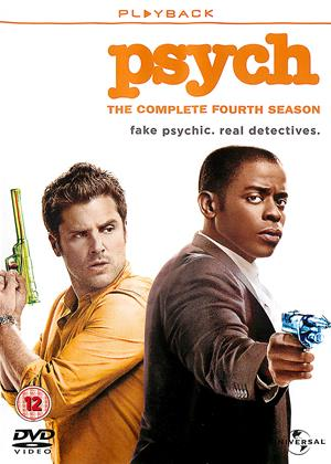 Rent Psych: Series 4 Online DVD Rental