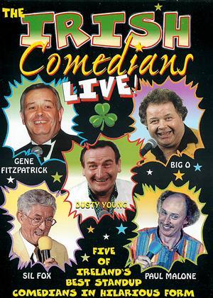 The Irish Comedians: Live Online DVD Rental