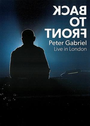 Peter Gabriel: Back to Front: Live in London Online DVD Rental