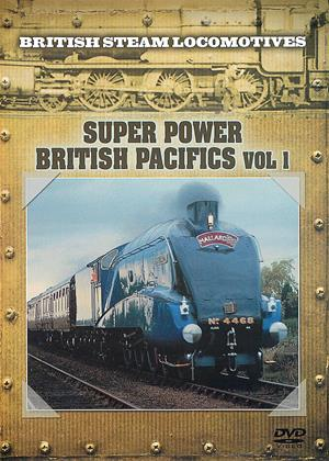 British Steam Locomotives: Super Power British Pacifics Online DVD Rental