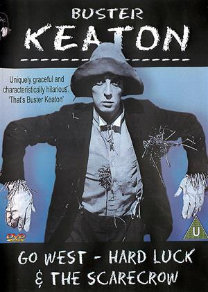 Rent Buster Keaton: Go West / Hard Luck / The Scarecraw Online DVD Rental