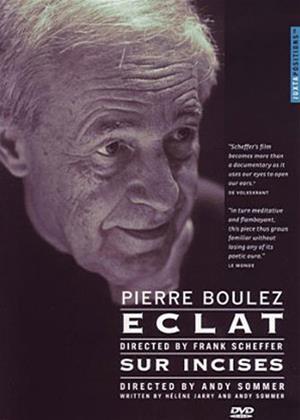 Pierre Boulez: Eclat / Sur Incises Online DVD Rental