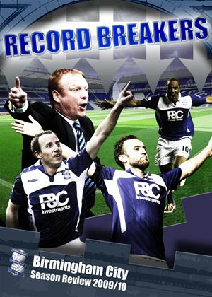 Rent Record Breakers: Birmingham City: Season Review 2009/10 Online DVD Rental