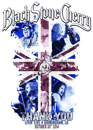 Black Stone Cherry: Livin': Live in Birmingham Online DVD Rental