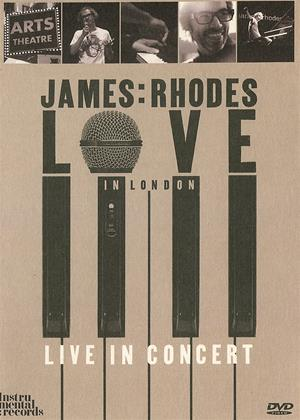 James Rhodes: Love in London Online DVD Rental