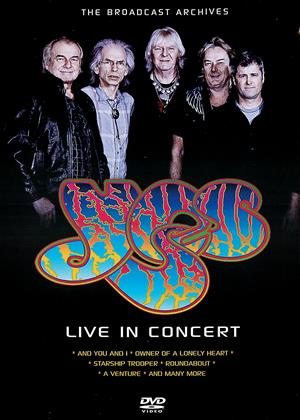 Yes: Live in Concert Online DVD Rental