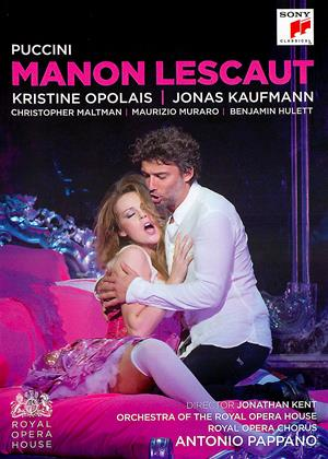 Manon Lescaut: Royal Opera House (Antonio Pappano) Online DVD Rental