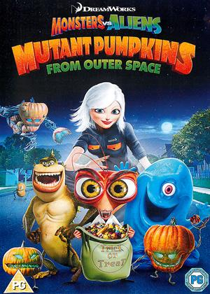 Monsters vs Aliens: Mutant Pumpkins from Outer Space Online DVD Rental