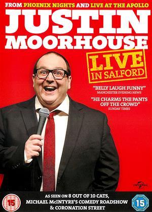 Rent Justin Moorhouse: Live in Salford Online DVD Rental