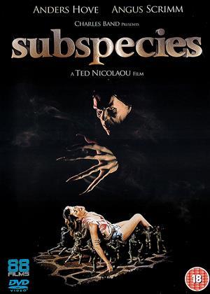 Rent Subspecies Online DVD Rental