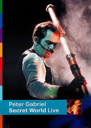 Peter Gabriel: Secret World Live Online DVD Rental
