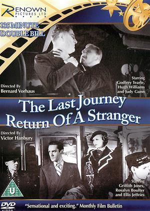 The Last Journey / Return of a Stranger Online DVD Rental