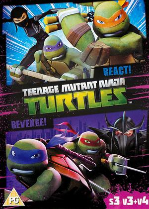 Rent Teenage Mutant Ninja Turtles: React!: Series 3: Vol.3 Online DVD Rental