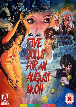 Five Dolls for an August Moon Online DVD Rental