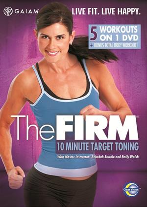 Rent The Firm: 10 Minute Target Toning Online DVD Rental