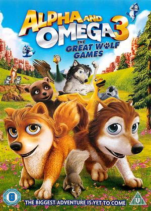 Alpha and Omega 3: The Great Wolf Games Online DVD Rental