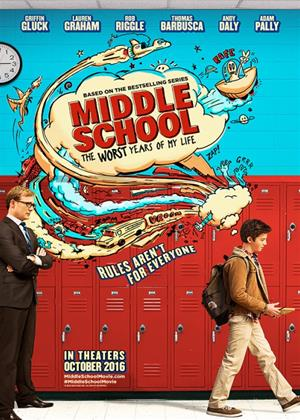Middle School: The Worst Years of My Life Online DVD Rental