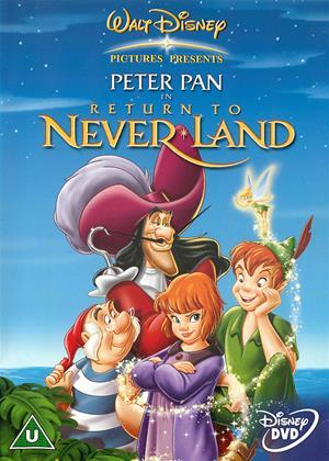 Rent Peter Pan: Return to Never Land Online DVD Rental