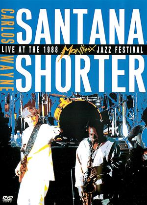 Carlos Santana and Wayne Shorter: Live at the Montreux Jazz Festival Online DVD Rental
