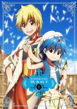 Magi: The Kingdom of Magic: Series 1 Online DVD Rental