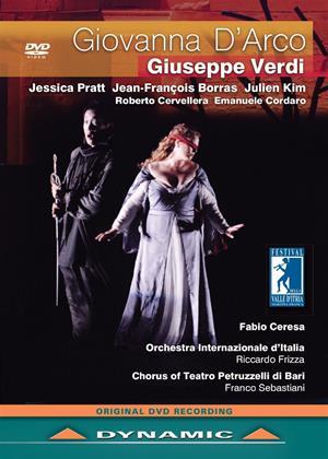 Rent Giovanna D'Arco: Festival Della Valle D'Itria (Riccardo Frizza) Online DVD Rental