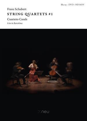 Franz Schubert String Quartets #1: Live in Barcelona Online DVD Rental