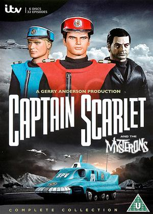 Rent Captain Scarlet and the Mysterons Online DVD Rental