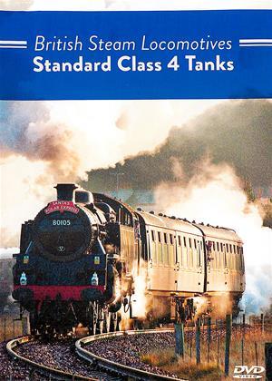 Rent British Steam Locomotives: Standard Class 4 Tanks Online DVD Rental