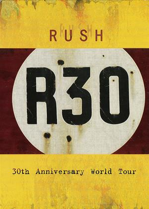 Rush R30: 30th Anniversary World Tour Online DVD Rental