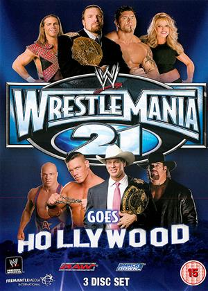 WWE: WrestleMania 21 Online DVD Rental