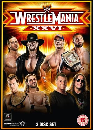 Rent WWE: Wrestlemania 26 Online DVD Rental