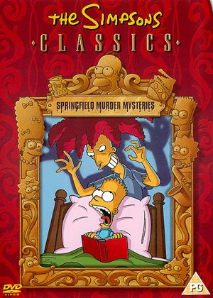 Rent The Simpsons Classics: Springfield Murder Mysteries Online DVD Rental