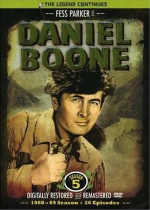 Daniel Boone: Series 5 Online DVD Rental