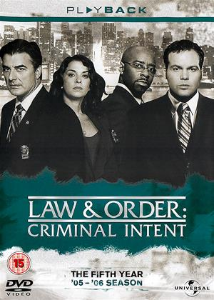Law and Order: Criminal Intent: Series 5 Online DVD Rental