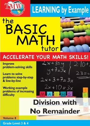 Rent The Basic Math Tutor: Division with No Remainder Online DVD Rental