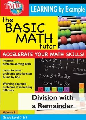 The Basic Math Tutor: Division with a Remainder Online DVD Rental