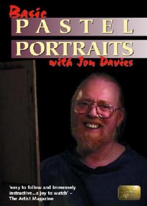 Rent Basic Pastel Portraits with Jon Davies Online DVD Rental
