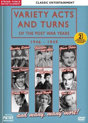 Rent Variety Acts and Turns of the Post War Years: 1946-1949 Online DVD Rental