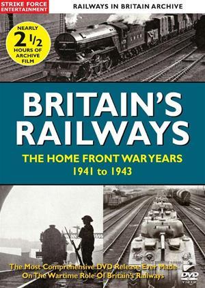 Rent British Railways: The Home Front War Years: 1941 to 1943 Online DVD Rental