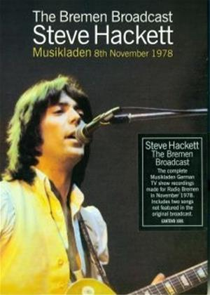 Rent Steve Hackett: The Bremen Broadcast Online DVD Rental
